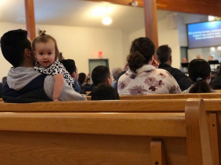 Church pews resized